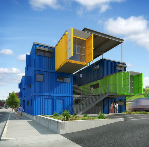 Shipping container homes the box office providence r i container office - Box container homes ...