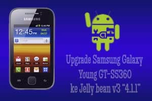 Upgrade Samsung Galaxy Young GT-S5360 ke Jelly Bean V3 [V4.1.1]