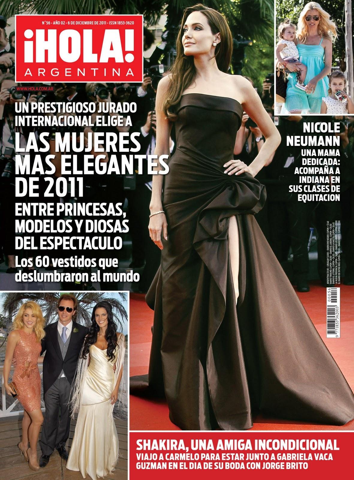 Shakira argentina shakira en la revista hola de esta for Revistas de espectaculos de esta semana