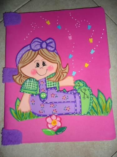 Dibujos de foami para carpetas - Imagui