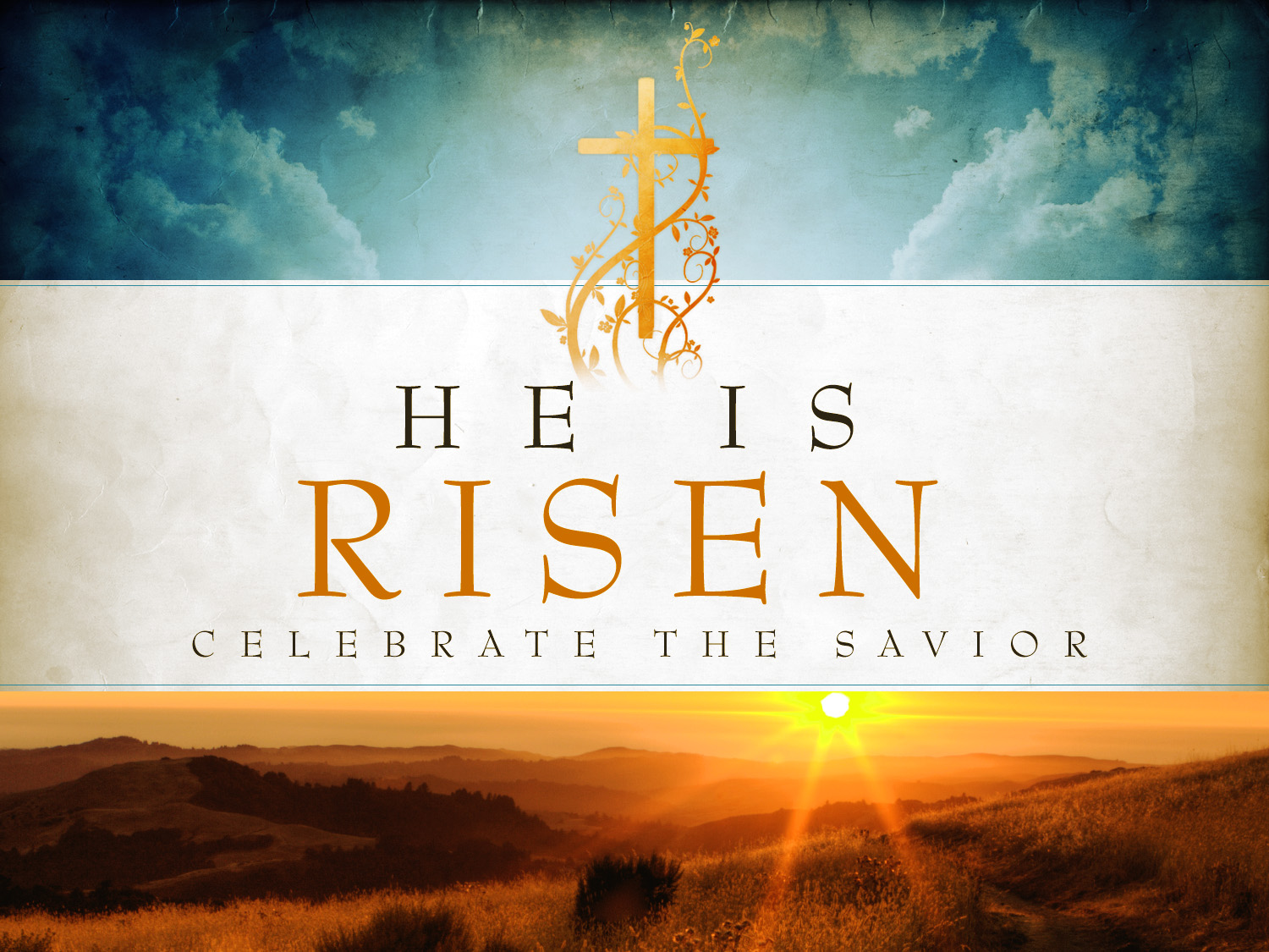 He Is Risen Iphone Wallpaper