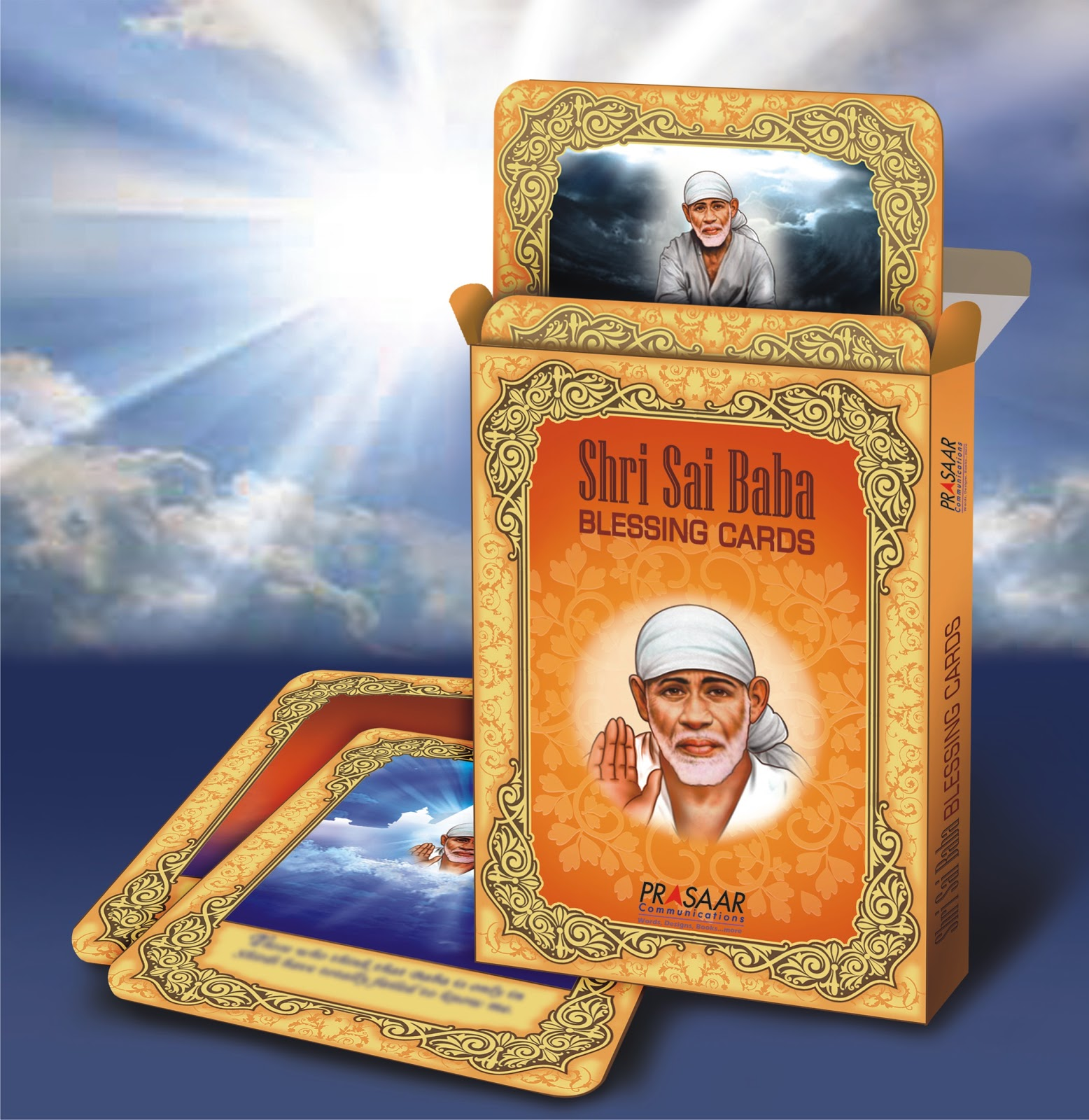 Shri Sai Baba Blessing Cards[Best Seller]