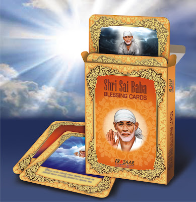 Shri Shirdi Sai Baba Blessing Cards - Information and Details
