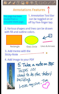ezPDF Reader PDF Annotate Form apk - PDF viewer with multimedia files embedded