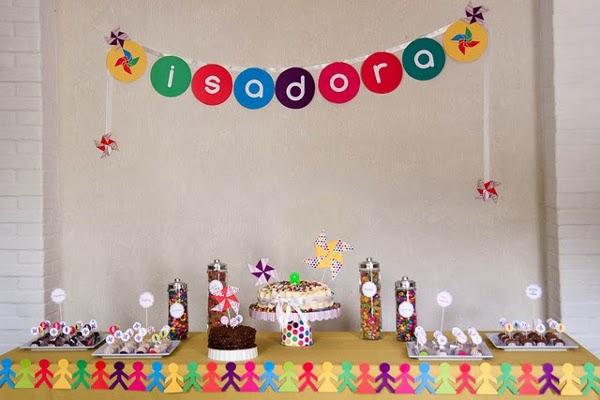 Bolshaia Decoração de festa infantil sem tema específico
