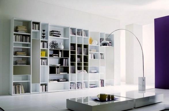 Modelos de salas de estar con bibliotecas c mo arreglar for Modelos de sala comedor