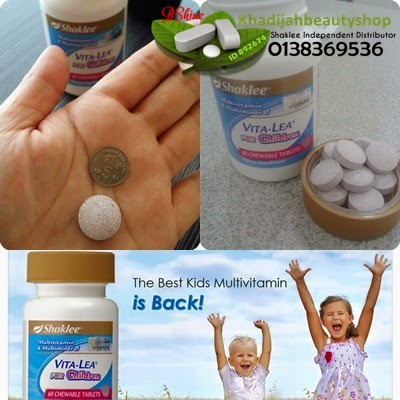 vitamin khas untuk kanak-kanak