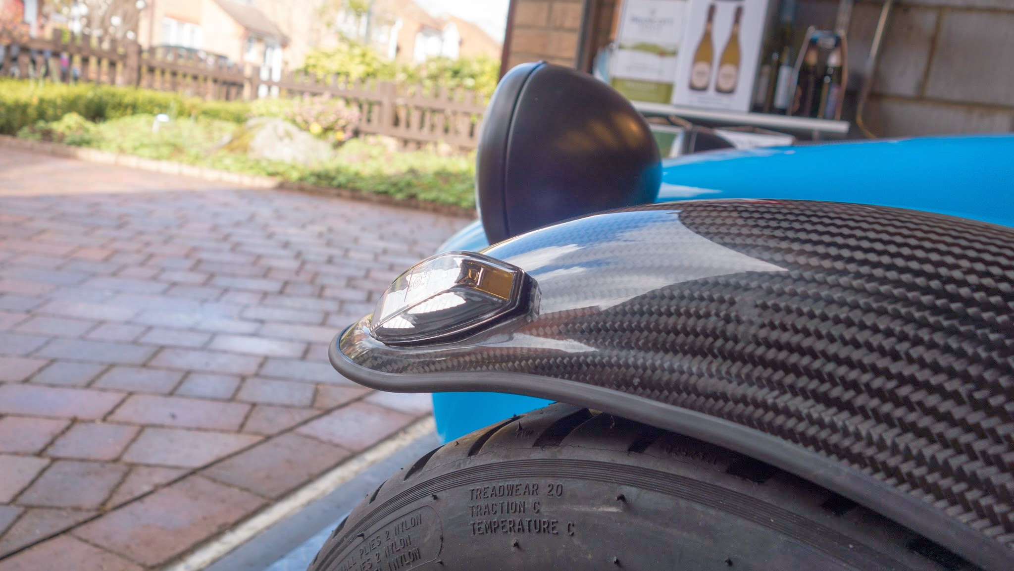 I was initially happy with the aggressive angle of the indicator, but later decided a flatter angle looked better