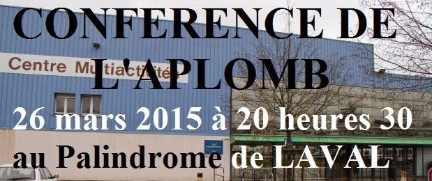 Conférence à Laval