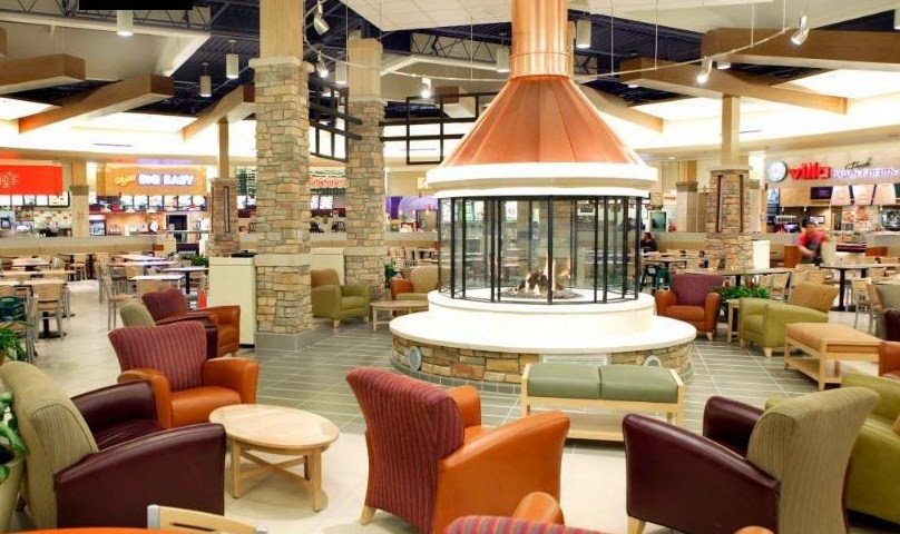 The Interior Of Brookfield Square Was Also Given A Major Makeover Here We See Its Refurbished Food Court Photo From Http Www Kainc K Architects