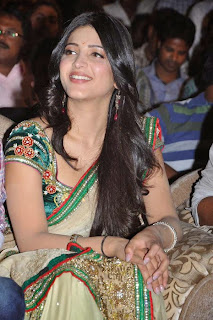 Shruti Hassan Saree Photo