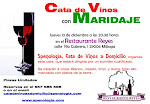 Cata de Vinos con Maridaje