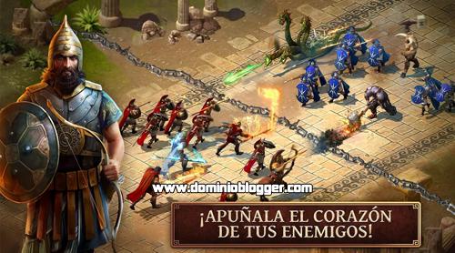 Participa en una batalla feroz jugando Age of Sparta