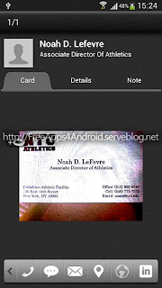 CamCard - Business Card Reader Free Apps 4 Android