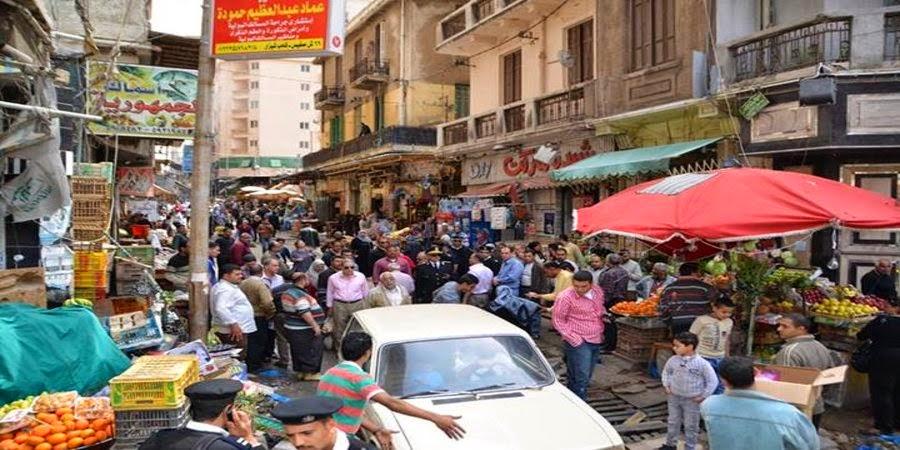 شركة المرافق تفتح سوق شيديا لمرور السيارات