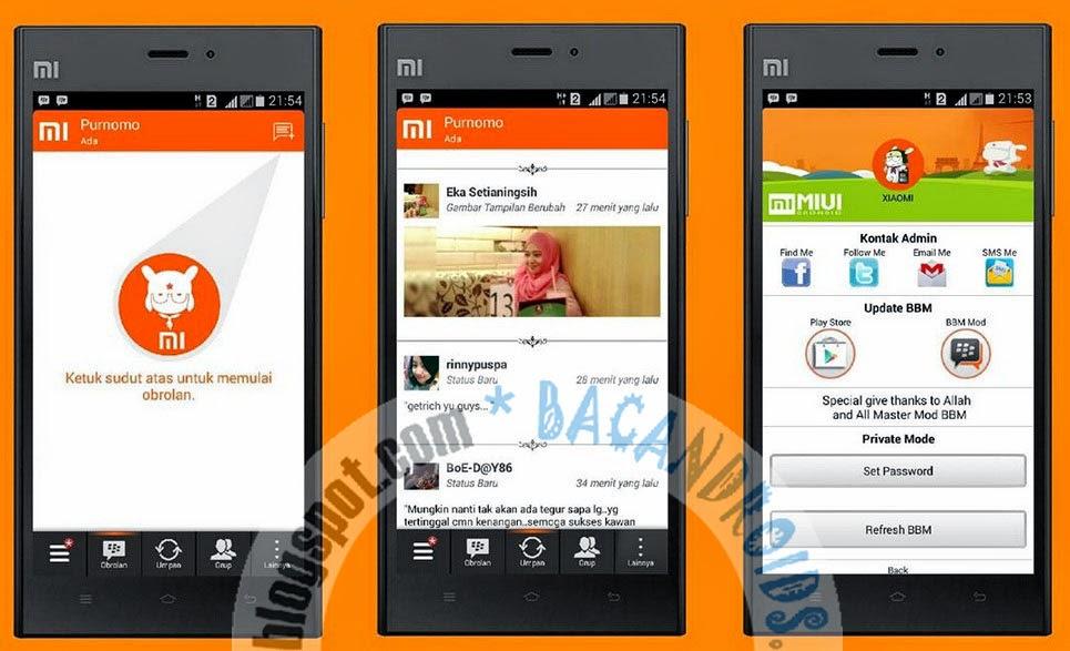 download BBM2 MIUI MOD Versi 2.7.0.23 link dual BBM/clone/multipin