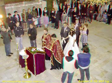 Venčanje u šabačkoj crkvi
