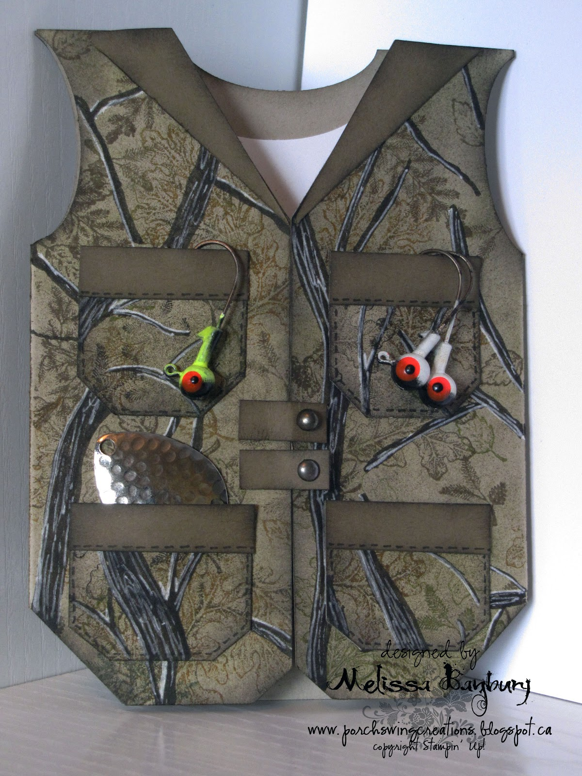 Porch swing creations camouflage fishing vest camouflage fishing vest kristyandbryce Choice Image