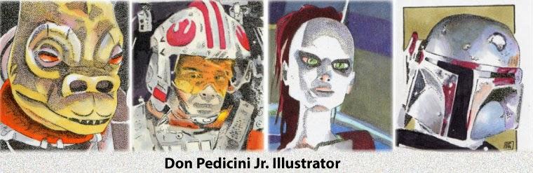 Don Pedicini Jr. Illustrator