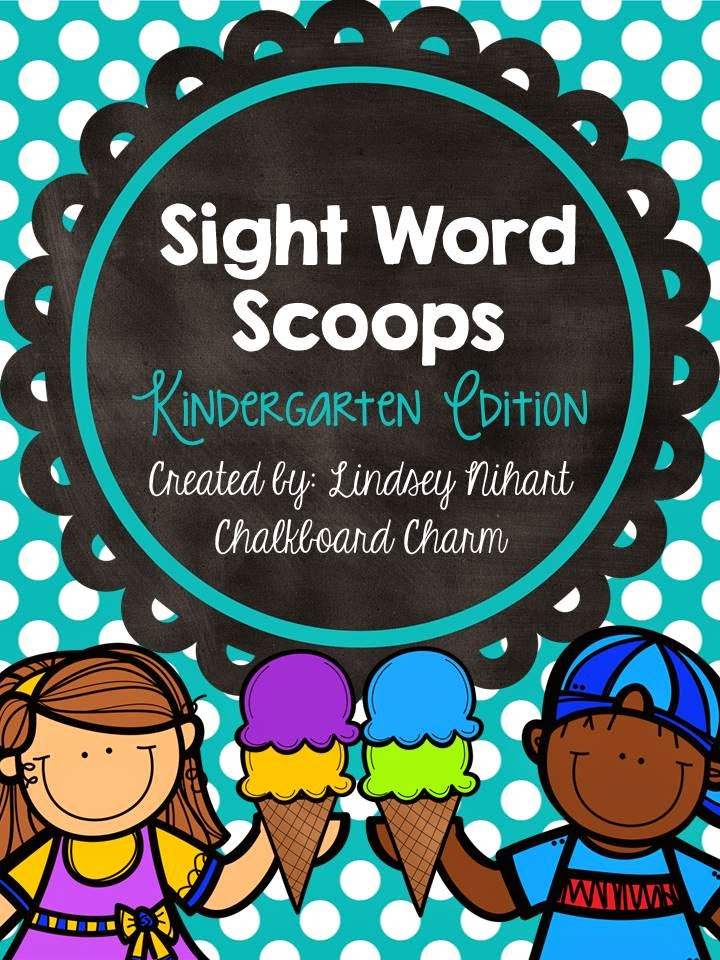 https://www.teacherspayteachers.com/Product/Sight-Word-Scoops-Kindergarten-Edition-1723733