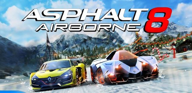 Free Download Asphalt 8: Airborne v2.2.2a [Mega Mod] APK