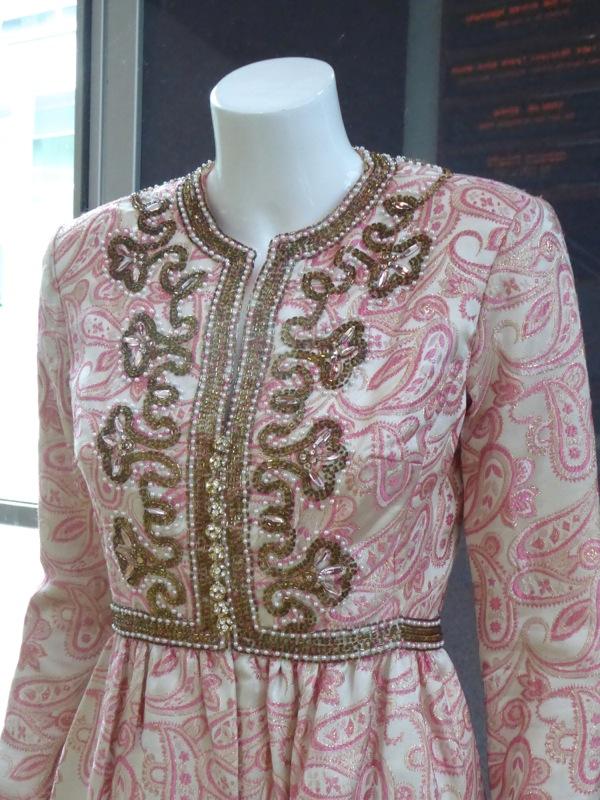 Helen Mirren Trumbo dress detail