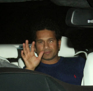 Sachin and Celebs at Special Screening Of Dhoom 3 Movie