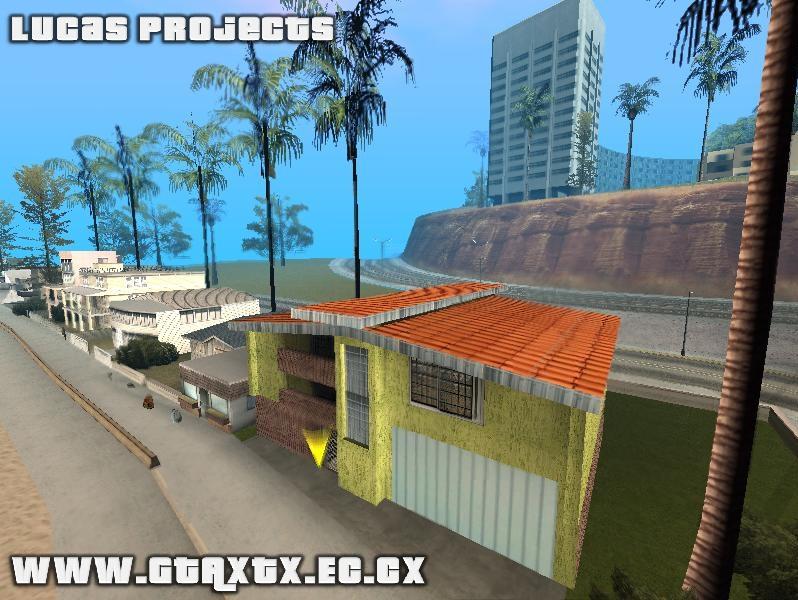 Nova casa de praia gta san andreas for Casa moderna gta sa