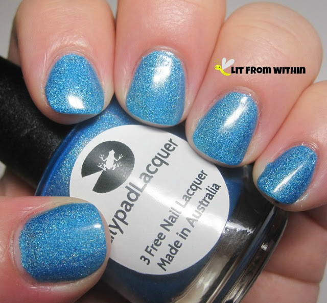 Lilypad Lacquer Bluebell