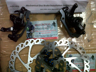 Jual Brakeset Hayes MX5 mekanik