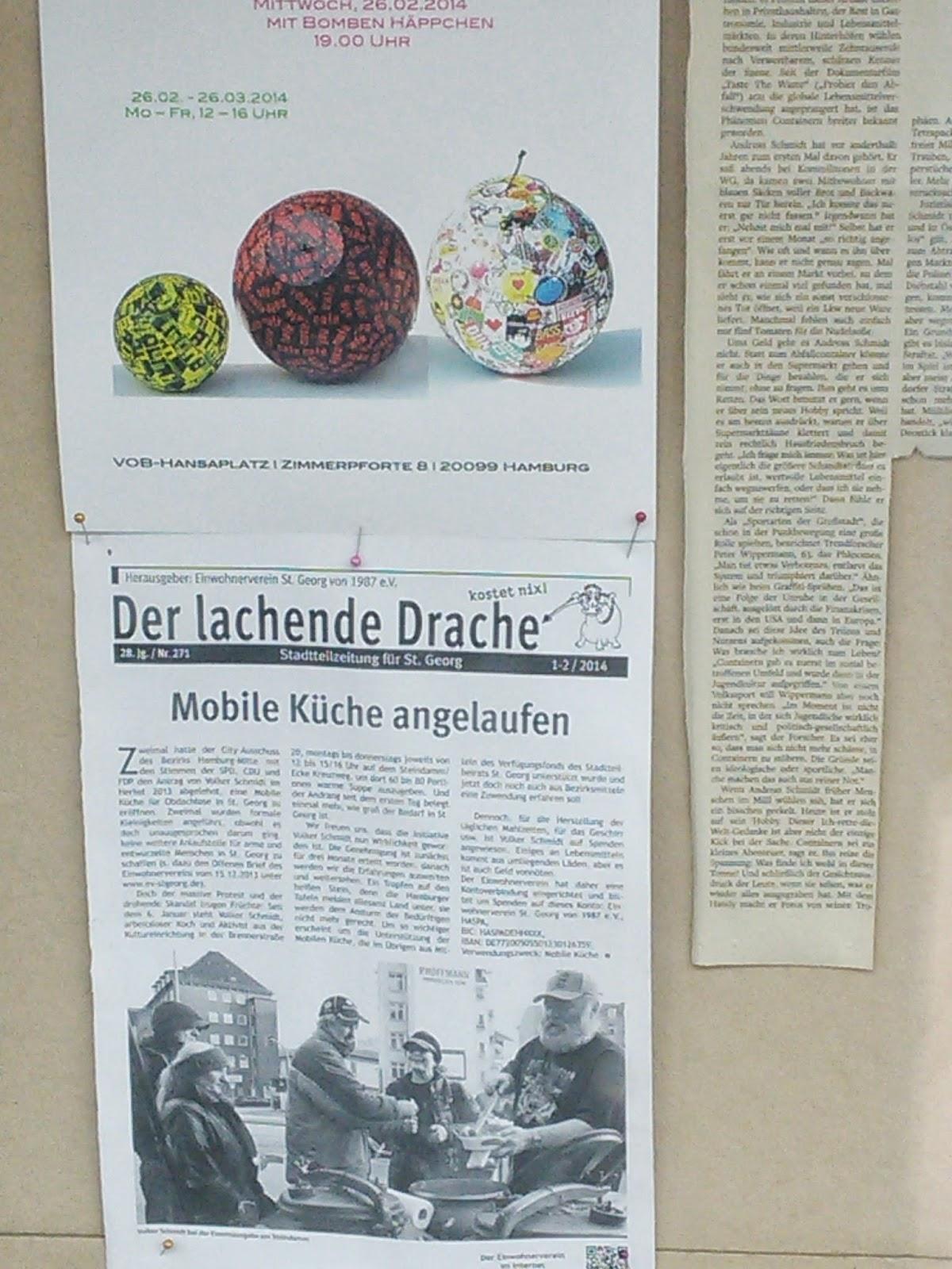 Hamburg is(s)t gut! Volkers mobile Volxküche - ein Projekt für ...