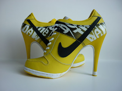 Nike+Dunk+SB+High+Heel+boots+yellow+black+16 High Heels