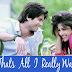 THAT'S ALL I REALLY WANNA DO LYRICS-TERI MERI KAAHANI | SHAAN&SHREYA