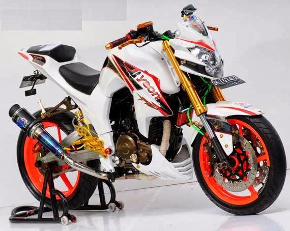 Modifikasi Yamaha Byson Half Fairing