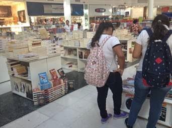 Shopping Grande Rio recebe a Feira do Livro