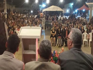 Igrejas Evangélicas de Nova Floresta comemoram o Dia Municipal do Evangélico
