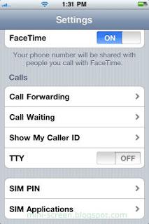 Gevey Ultra Untethered Jailbreak iPhone 4's iOS 4.3.5: SIM Application Menu