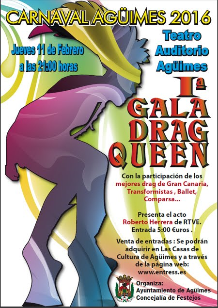 I Gala Drag Queen Carnaval 2016
