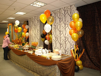 Pretty parties african safari party - African american party ideas ...