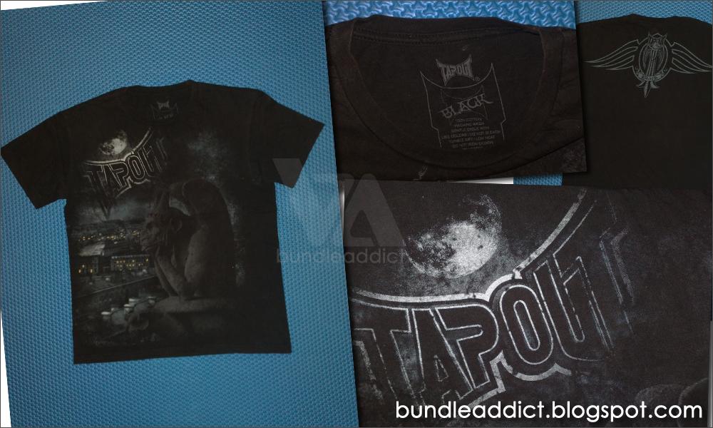 Tapout Mps t Shirt ba 2995 Tapout Black t Shirt