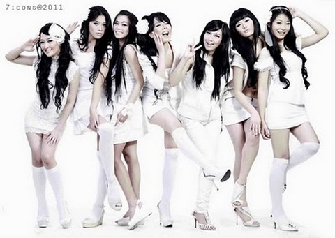 foto 7 icon girlband indonesia