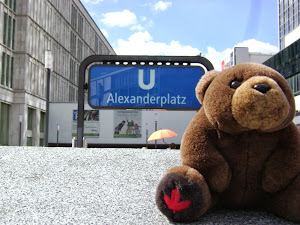 Teddy Bear in Berlin
