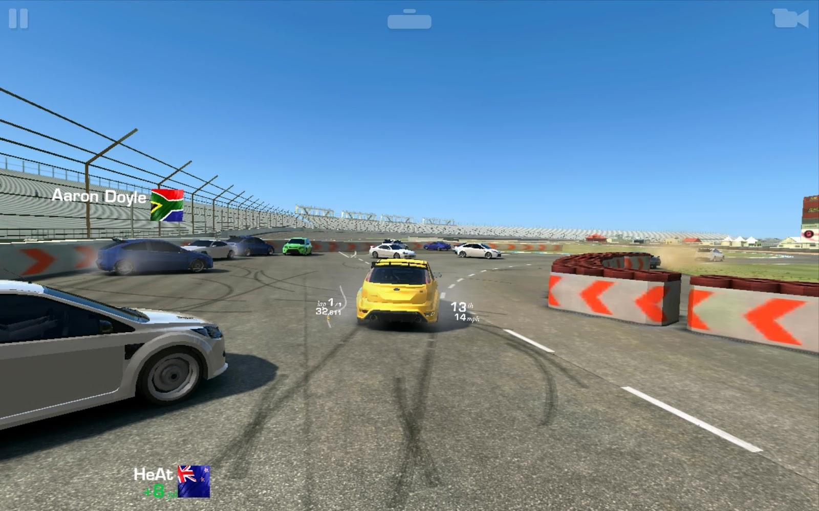 Real racing mod