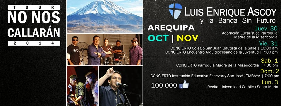 Luis Enrique Ascoy en Arequipa