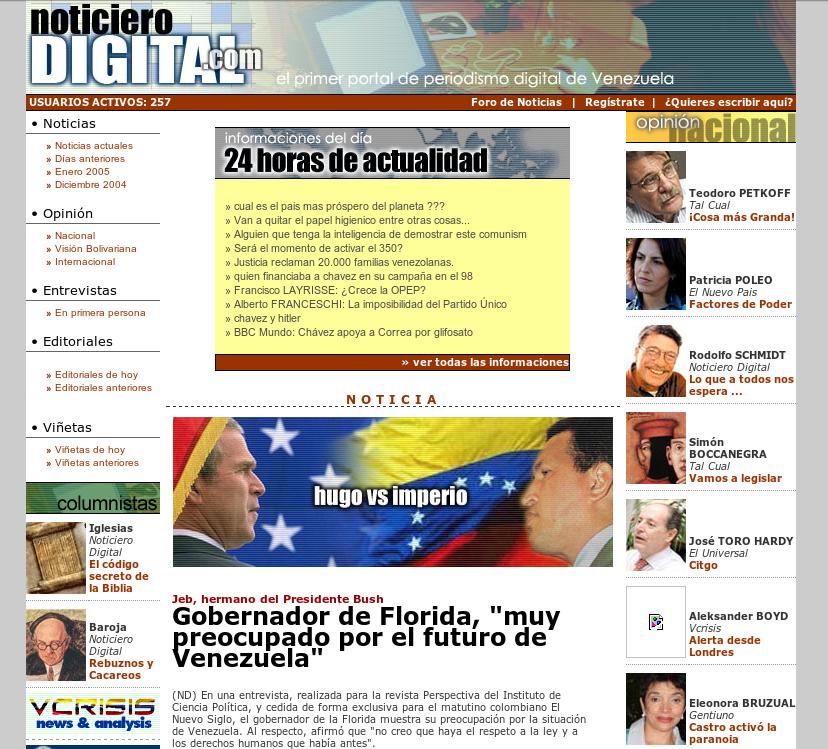 Redes sociales en Venezuela: desde los au00f1os noventa hasta el ...