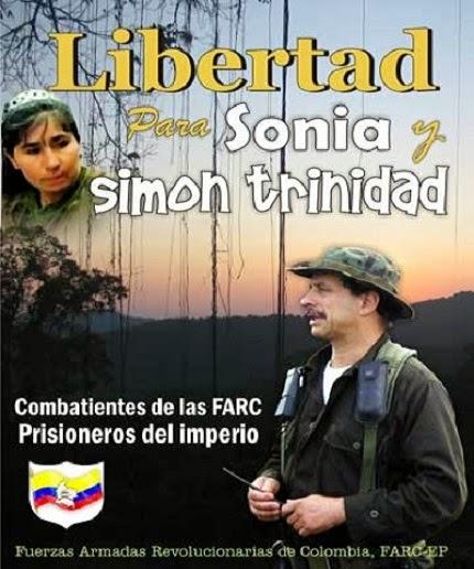 Freiheit für Sonia und Simón