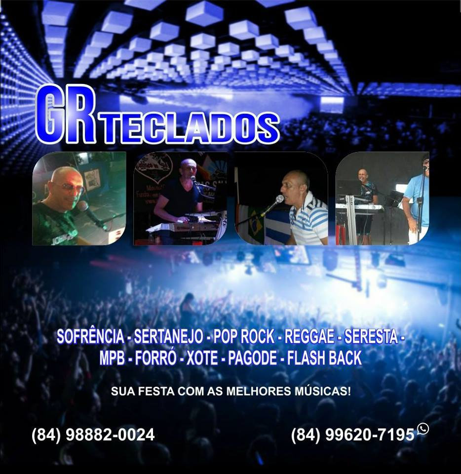 GR TECLADOS - SOM E BANDA PARA SUA MELHOR FESTA