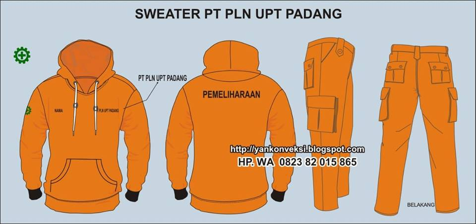 SWEATER LAPANGAN PLN
