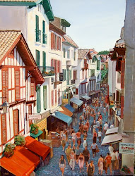 St Jean de Luz (France) Rue Gambetta - Just 30 mins from our home