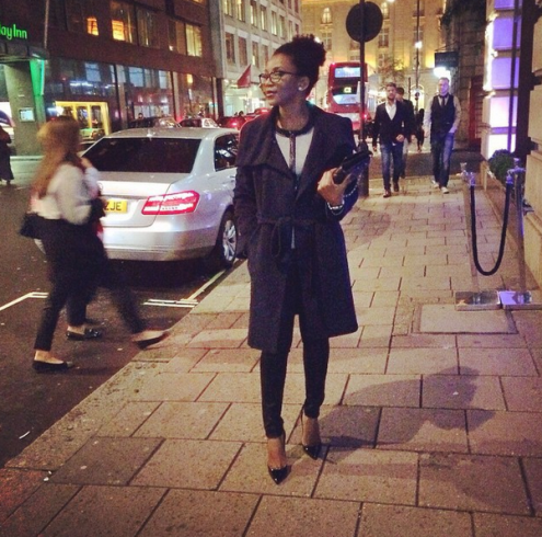 genevieve nnaji london